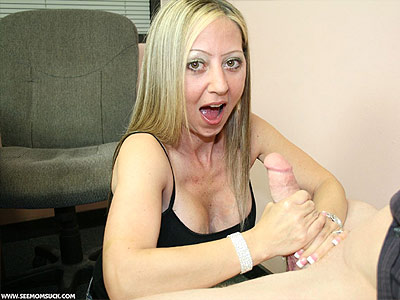 Moms Lets Daughter Suck Cock